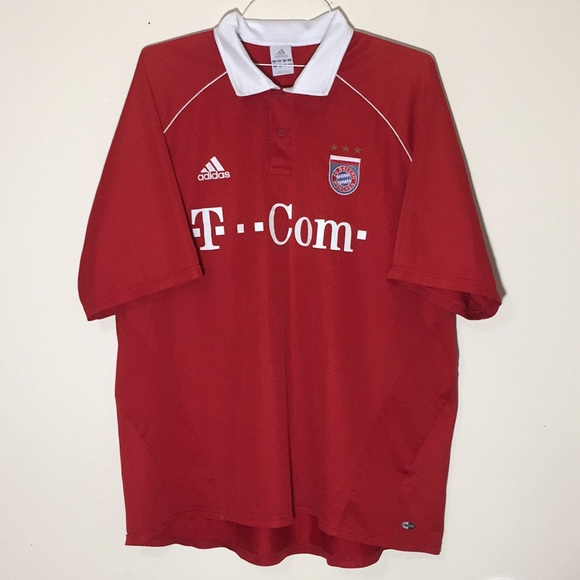 promo code 27989 79925 🔥Vintage FC Bayern Munich Addidas Soccer Jersey